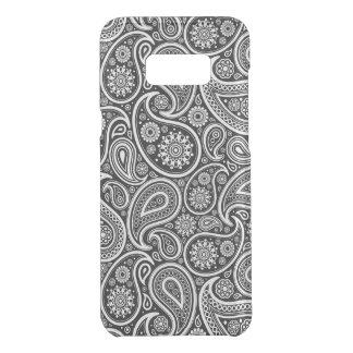 Noir et et motif vintage blanc 2a de Paisley Coquer Get Uncommon Samsung Galaxy S8 Plus