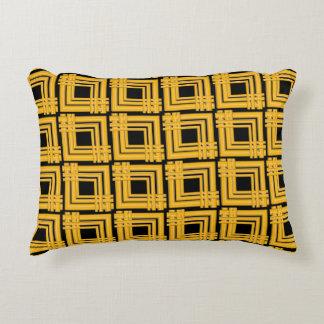 coussins jaune et noir. Black Bedroom Furniture Sets. Home Design Ideas