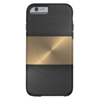 Noir et or coque iPhone 6 tough