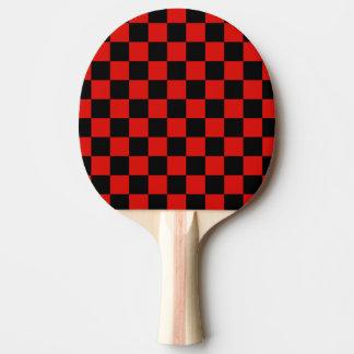 Noir et rouge - club italien du football - Milan Raquette Tennis De Table