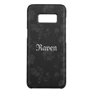 Noir éternel gothique de Name* de *Your Coque Case-Mate Samsung Galaxy S8