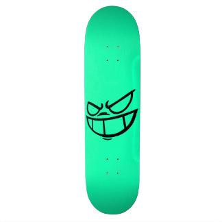Noir fantôme de Smile™ et plate-forme de planche à Skateboard 20,6 Cm