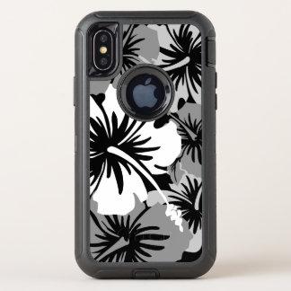 Noir floral hawaïen de ketmie épique Aloha
