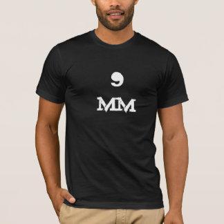 noir frais T-shirt tactique de munitions de 9