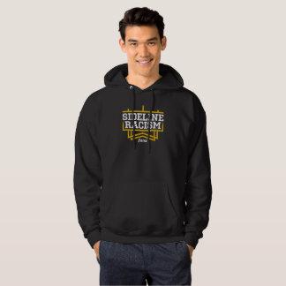 Noir/jaune à capuchon de base du sweatshirt des