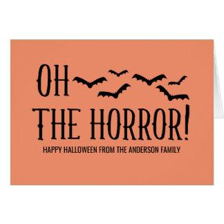 Cartes de vœux soirées Halloween