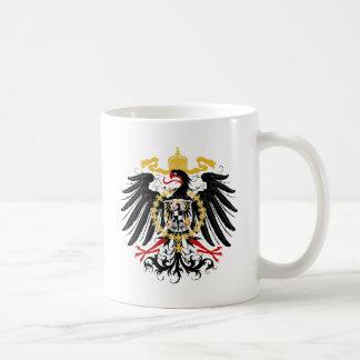 Noir rouge prussien et or d'Eagle Mug
