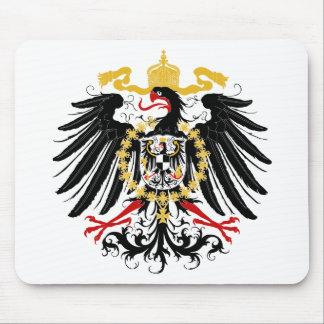 Noir rouge prussien et or d'Eagle Tapis De Souris