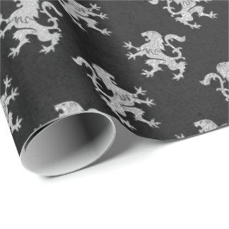 noir et argent papier cadeau noir et argent motifs papier cadeau. Black Bedroom Furniture Sets. Home Design Ideas