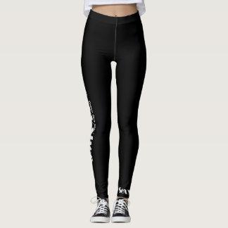 Noir sexy de guêtres leggings