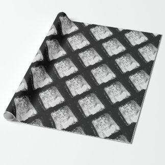 noircissez une couleur si heureuse papiers cadeaux noël
