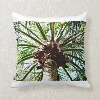 Noix de coco - carreau - île tropicale coussin