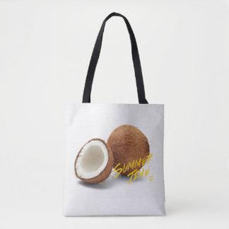 Noix de coco de temps d'été sac