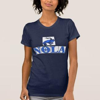 NOLA couvre de tuiles Fleur, écrevisse de tuiles T-shirt
