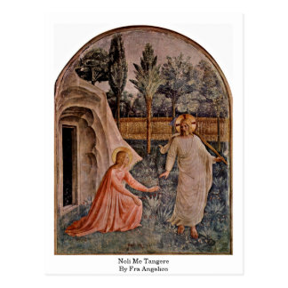 Noli je Tangere par ATF Angelico Carte Postale