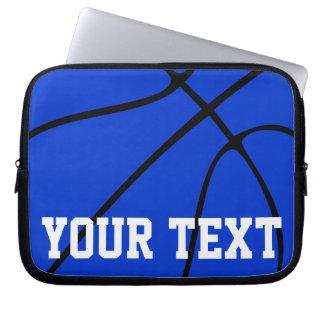 Nom bleu ou texte d'équipe d'entraîneur de protection pour ordinateur portable