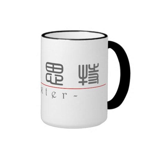 Nom chinois pour Dexter 22383_0.pdf Tasse À Café