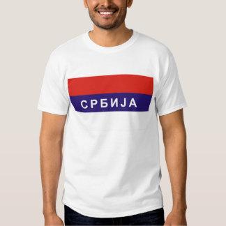 nom cyrillique russe des textes de pays de drapeau t-shirt