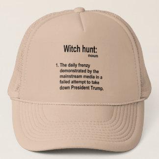 Nom de chasse aux sorcières casquette