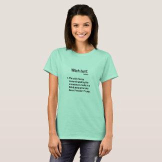 Nom de chasse aux sorcières t-shirt