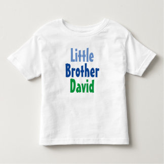 Nom de coutume de T-shirt de petit frère