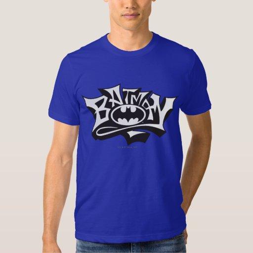 Nom de graffiti de Batman T-shirt