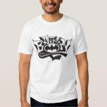 Nom de graffiti de Batman T-shirts