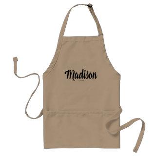 Nom de Madison personnalisé par VIMAGO Tablier