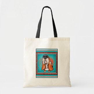 Nom de scintillement d'abrégé sur art de bruit de  sacs en toile