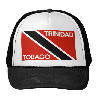 nom des textes de drapeau de pays du Trinidad Casquettes De Camionneur