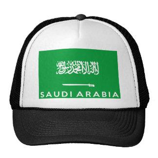 nom des textes de pays de drapeau de l'Arabie Casquette