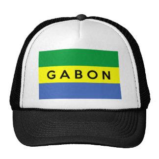 nom des textes de pays de drapeau du Gabon Casquette De Camionneur