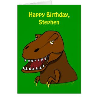 Nom drôle de coutume d'anniversaire de enfant de carte de vœux