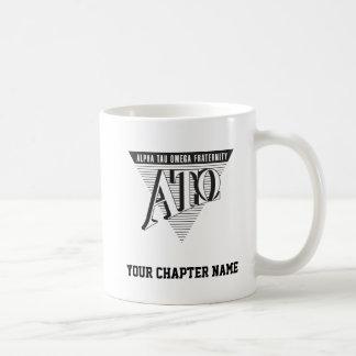 Nom et lettres de Tau Omega d'alpha Mug