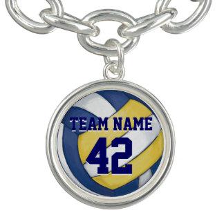 Nom et nombre d'équipe de volleyball bracelet