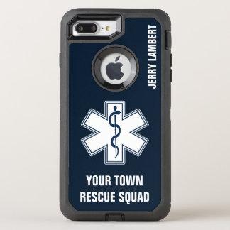 Nom et peloton d'infirmier d'EMT SME Coque Otterbox Defender Pour iPhone 7 Plus