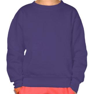 NOM personnalisé de sweatshirt de fille du