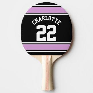 Nom personnalisé par nouveauté du Jersey du Raquette De Ping Pong