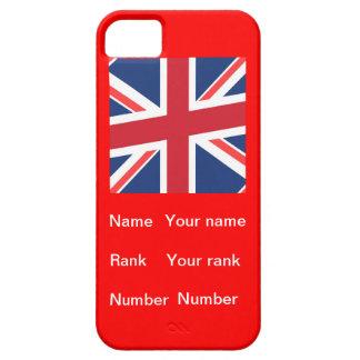 Nom, rang et nombre personnalisables coque iPhone 5 Case-Mate