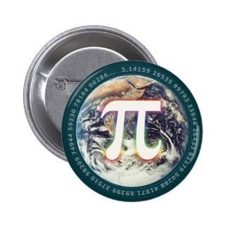 Nombre de pi sur des maths de la terre | pin's
