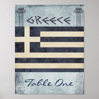 Nombre de Tableau de la Grèce