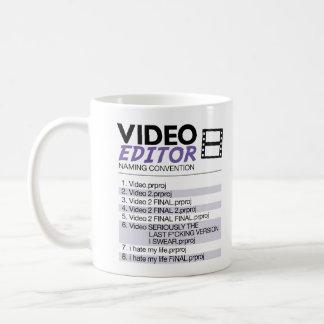 Nomination de dossier de rédacteurs mug