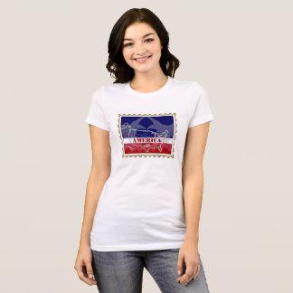 Noms d'états des Etats-Unis sur le T-shirt de