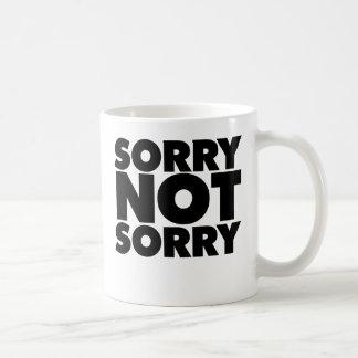 Non désolé désolé mug