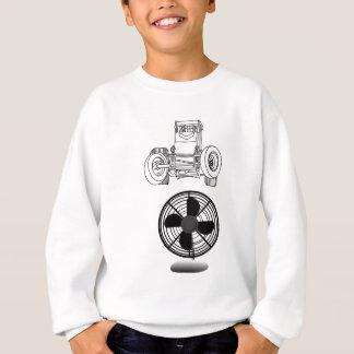 Non fan de voiture de sprint d'aile pour la sweatshirt