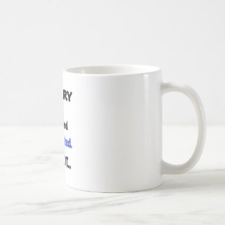non intéressé désolé mug
