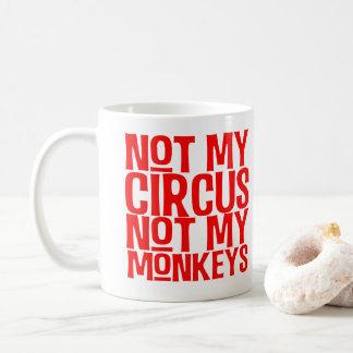 Non mon cirque non ma tasse de singes