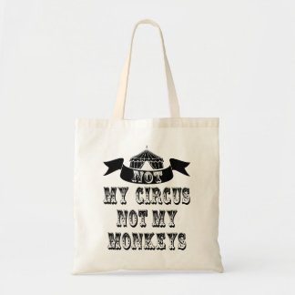 Non mon cirque sac de toile