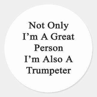 Non seulement je suis une grande personne que je sticker rond