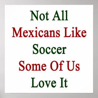Non tous les Mexicains aiment le football certains
